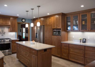 From Dated to Delightful: An Enclosed Kitchen Design in Fitchburg WI