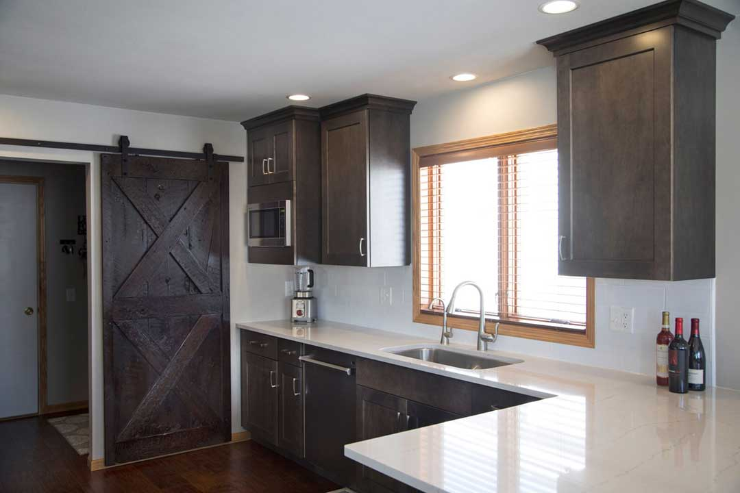 Fitchburg-WI-Transitional-Kitchen-Remodel-Barn-Door
