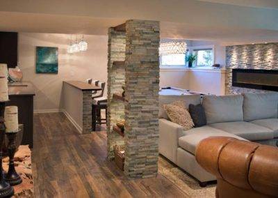 Luxurious Basement Remodel – Lake Mendota in Middleton, WI