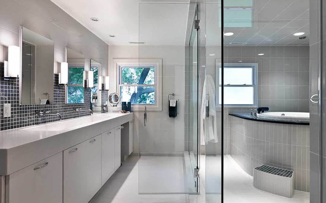 Spa-Inspired Master Bathroom Remodel in Maple Bluff Madison, WI