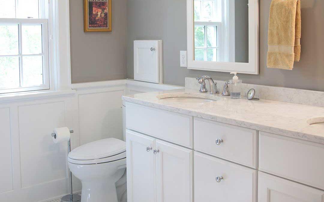 Stunning White Master Bathroom Remodel in Nakoma Madison, WI