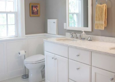 Stunning White Master Bathroom Remodel in Nakoma Madison, WI