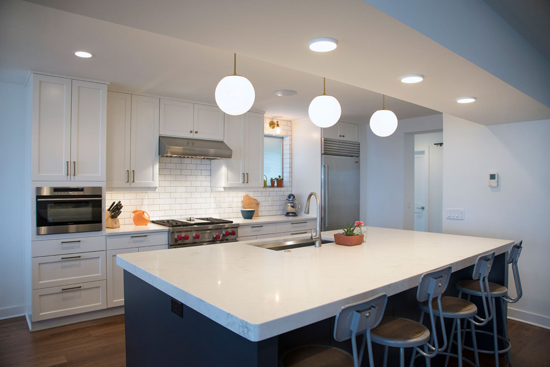 Madison WI Transitional Kitchen Remodel