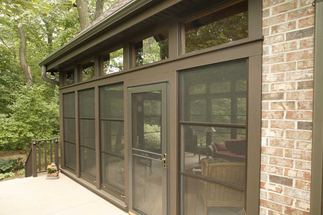 Fitchburg-WI-Traditional-Sunroom-Addition-Exterior-Entrance