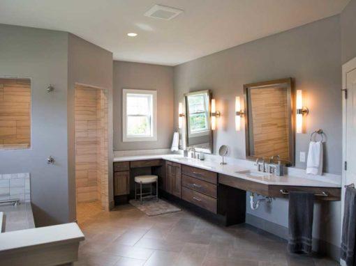 Contemporary Master Suite Addition in Sun Prairie, WI
