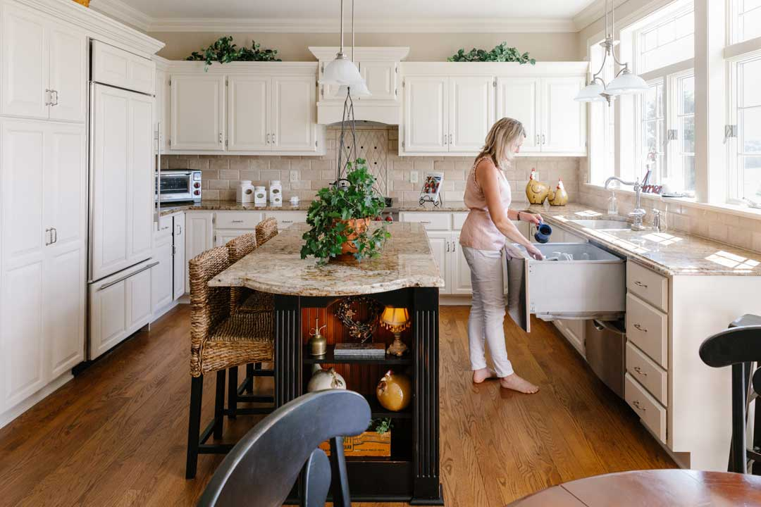 Traditional kitchen remodel madison wi