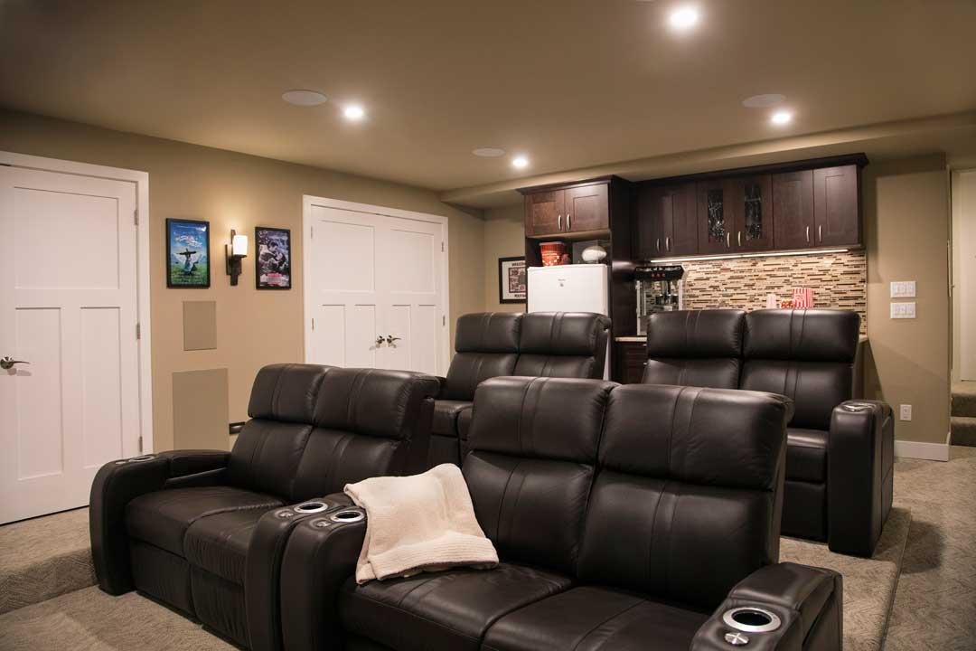 McFarland wi basement remodel