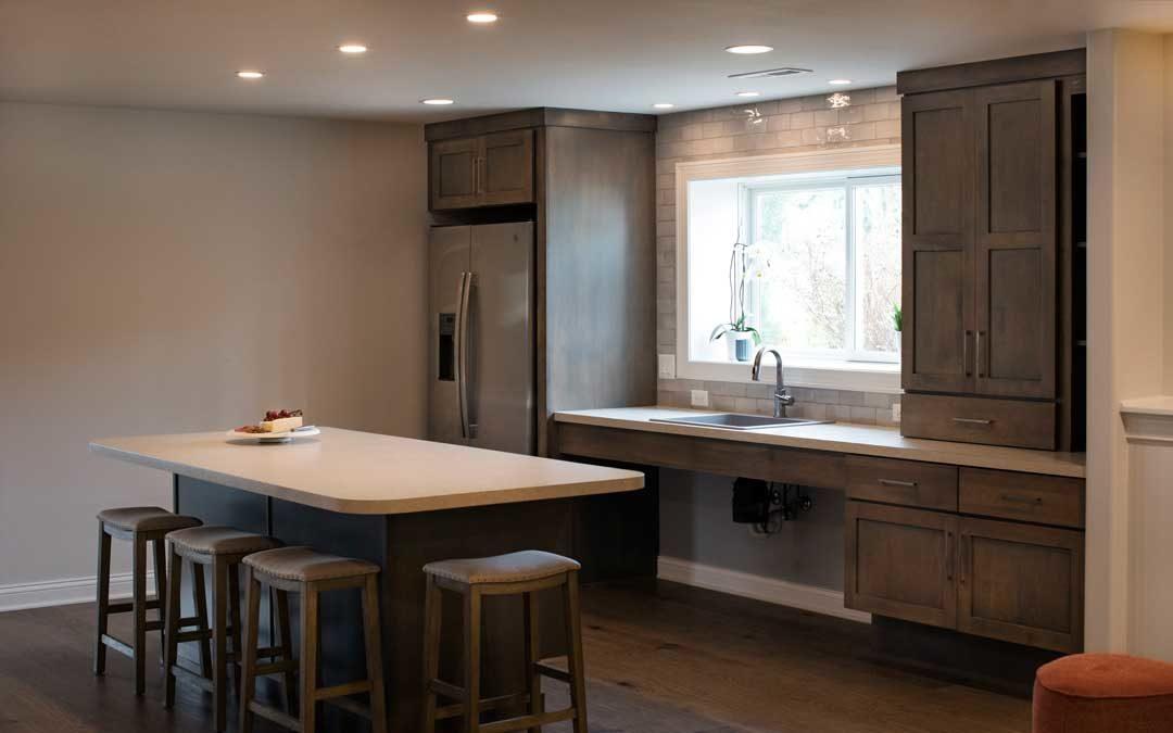 Sun Prairie, WI kitchenette home addition