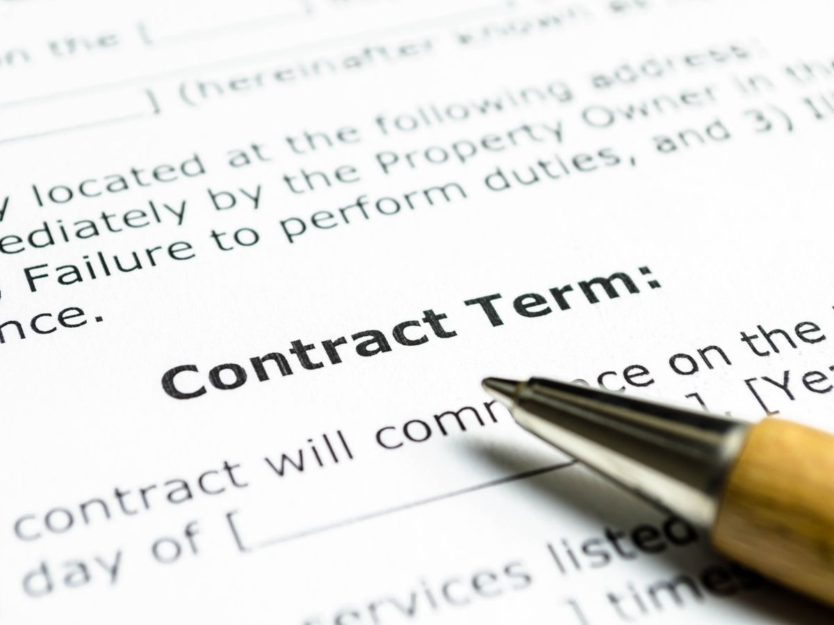 Remodeling Contract Terms