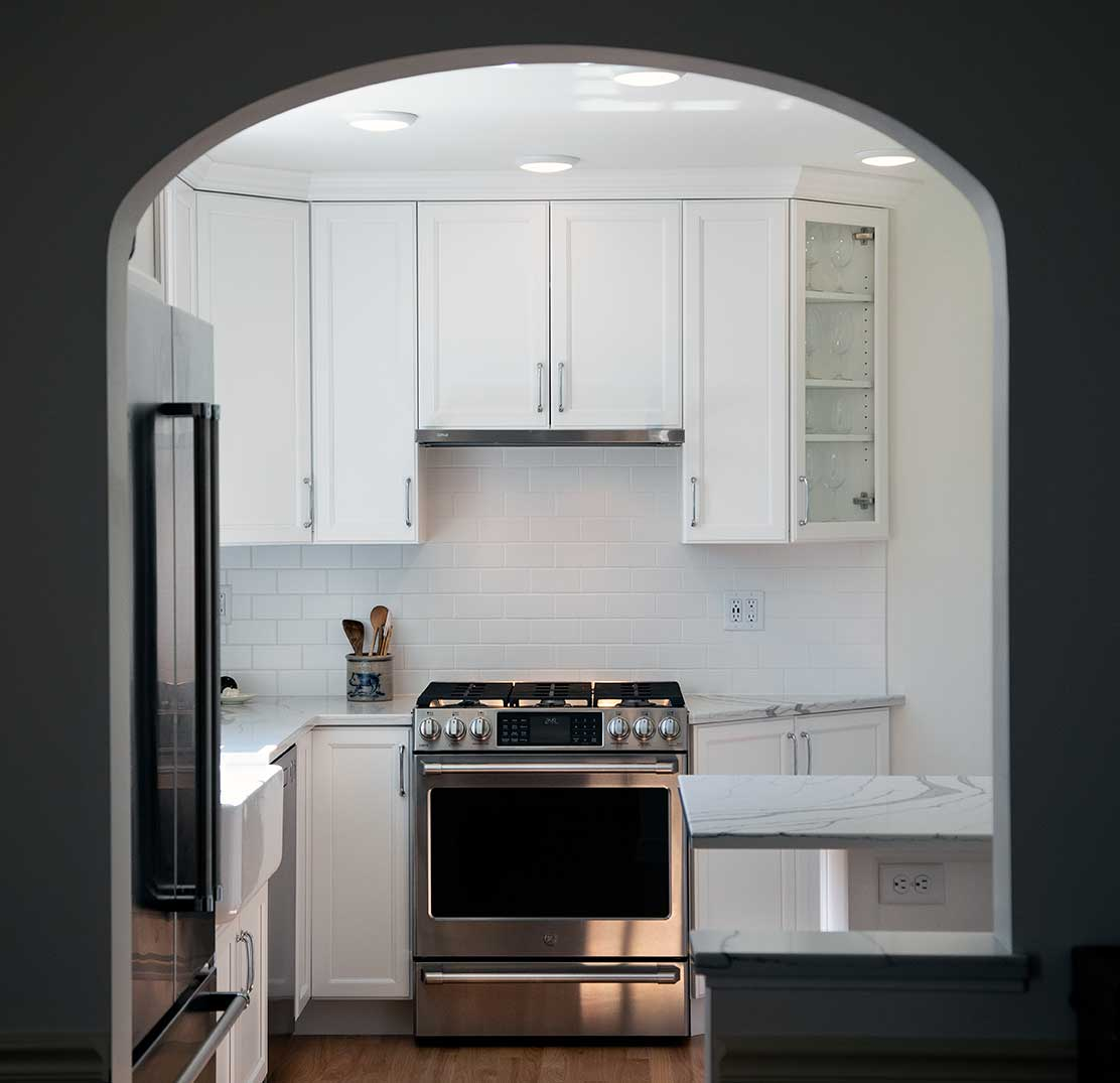 Small Transitional Kitchen Remodel