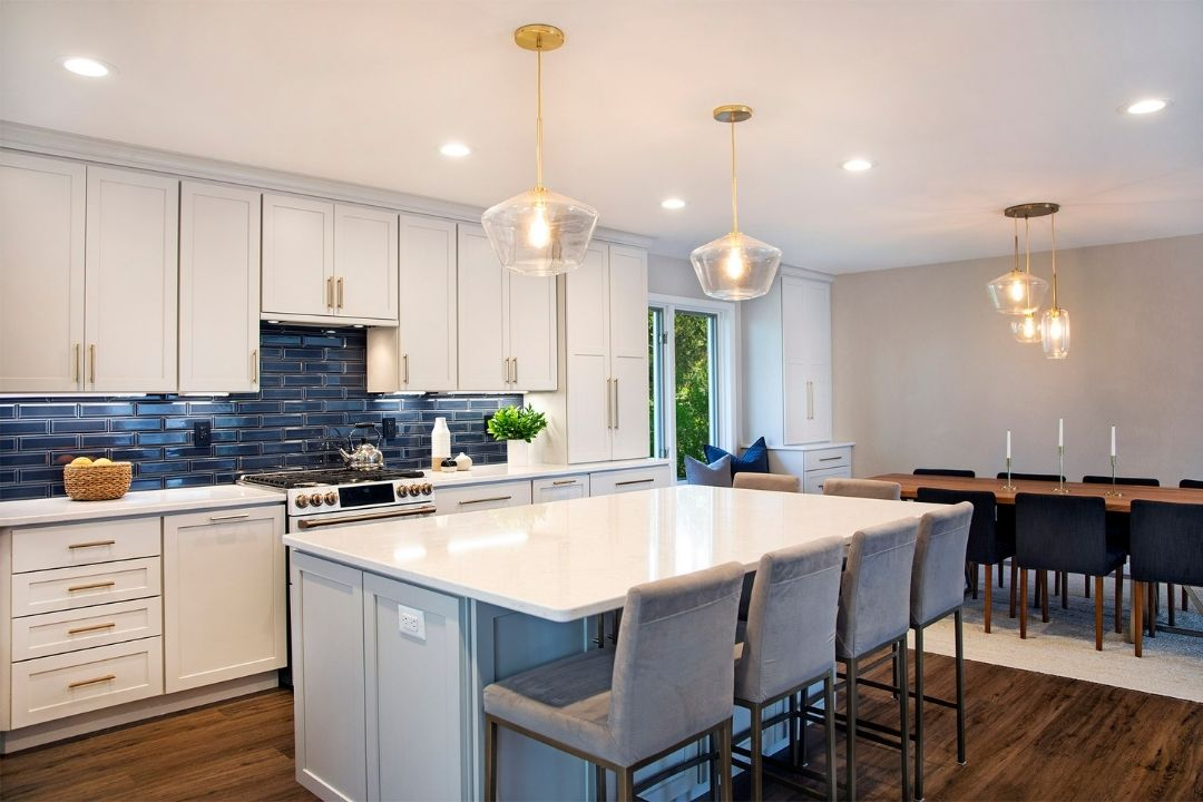 Transitional Kitchen and Dining Room Remodel