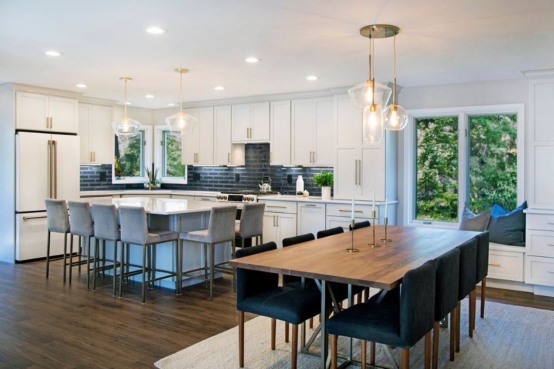 Open Concept Kitchen and Dining Room Remodel