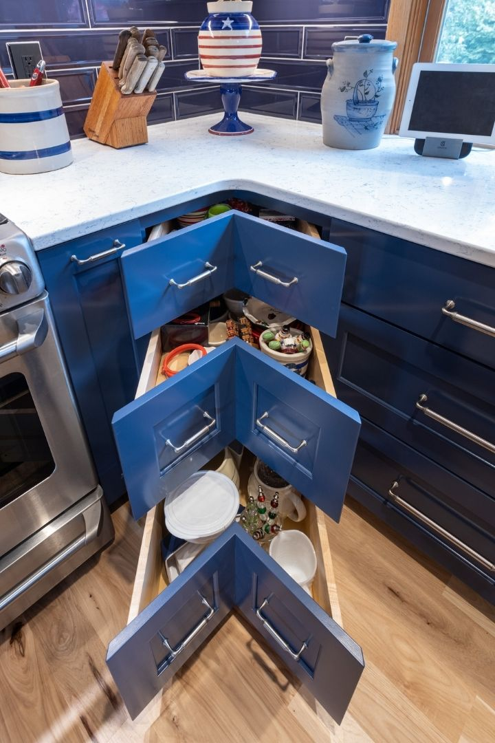 Custom Pull Out Drawers