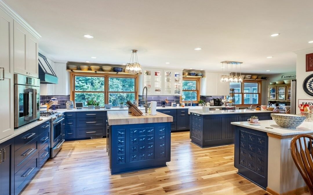 Open Concept, Center Hall Colonial Kitchen Remodel in Verona, WI