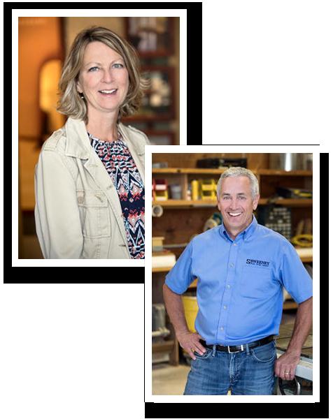 Linda & Tim Sweeney